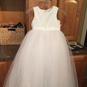 David's Bridal brand new flower girl dress